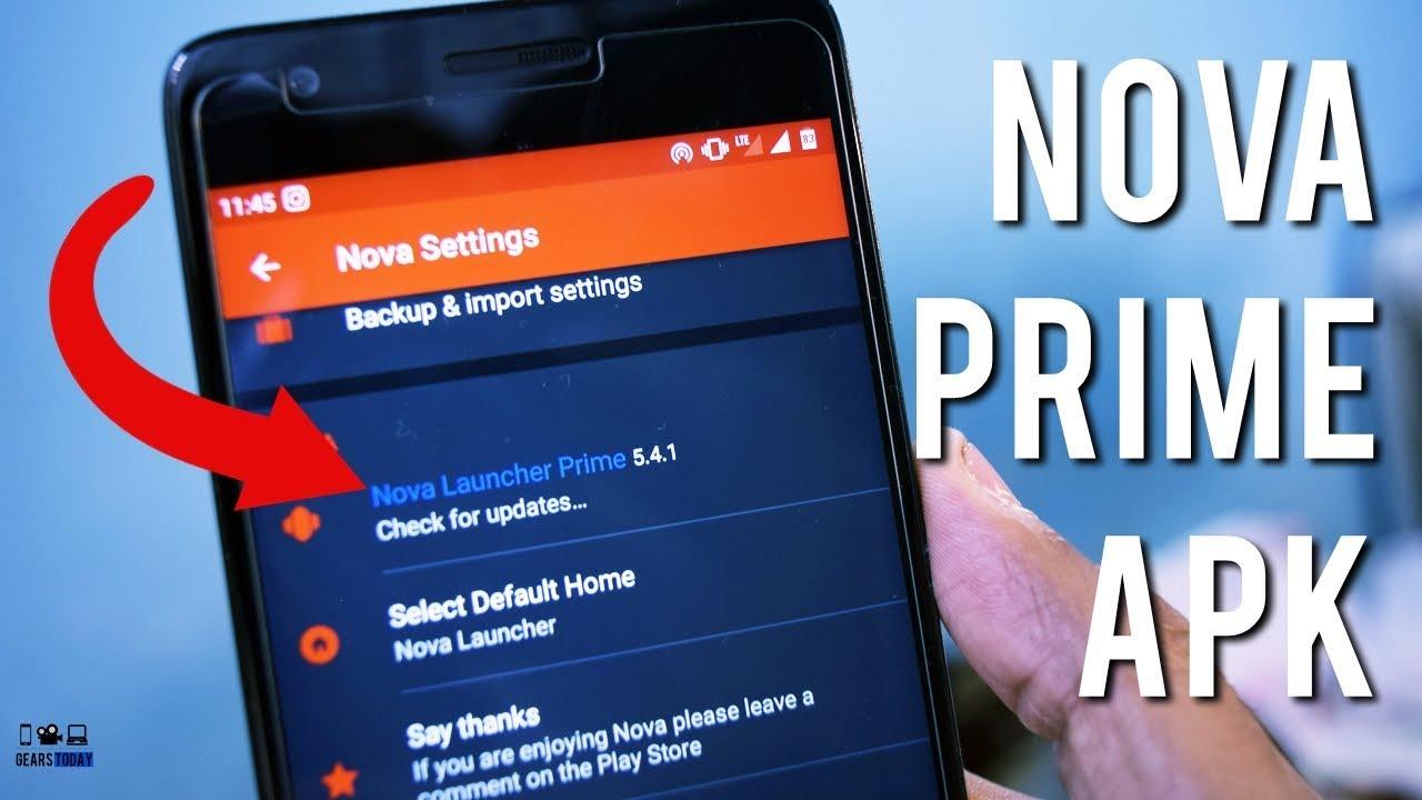NOVA Launcher Prime APK Download + How To Setup NOVA Launcher For First  Time!