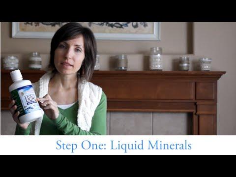 STEP 1: Liquid Minerals (4/5): Minerals // Preparedness