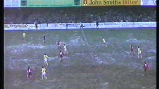 York City 1 Arsenal  0 FA Cup 4th Rd 1985