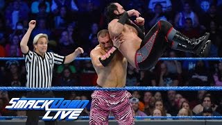 The Hype Bros vs. The Ascension: SmackDown LIVE, Dec. 6, 2016