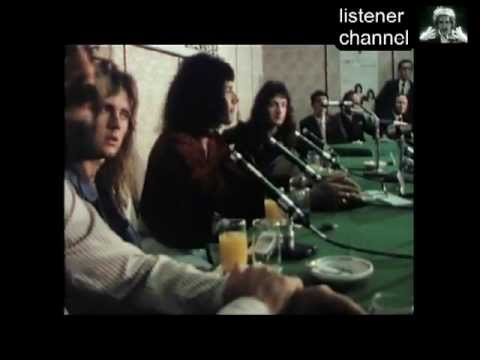 Queen - Live In Japan 1975 - Press Conference/Tea Ceremony