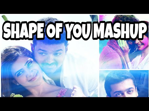 Ed-Sheeran - Shape Of You - Malayalam Mashup ( Tamil Remix ) - Aswin Ram - Akhil Dinesh