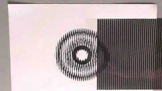 Amazing optical illusions - two static drawings give the illusion of motion!