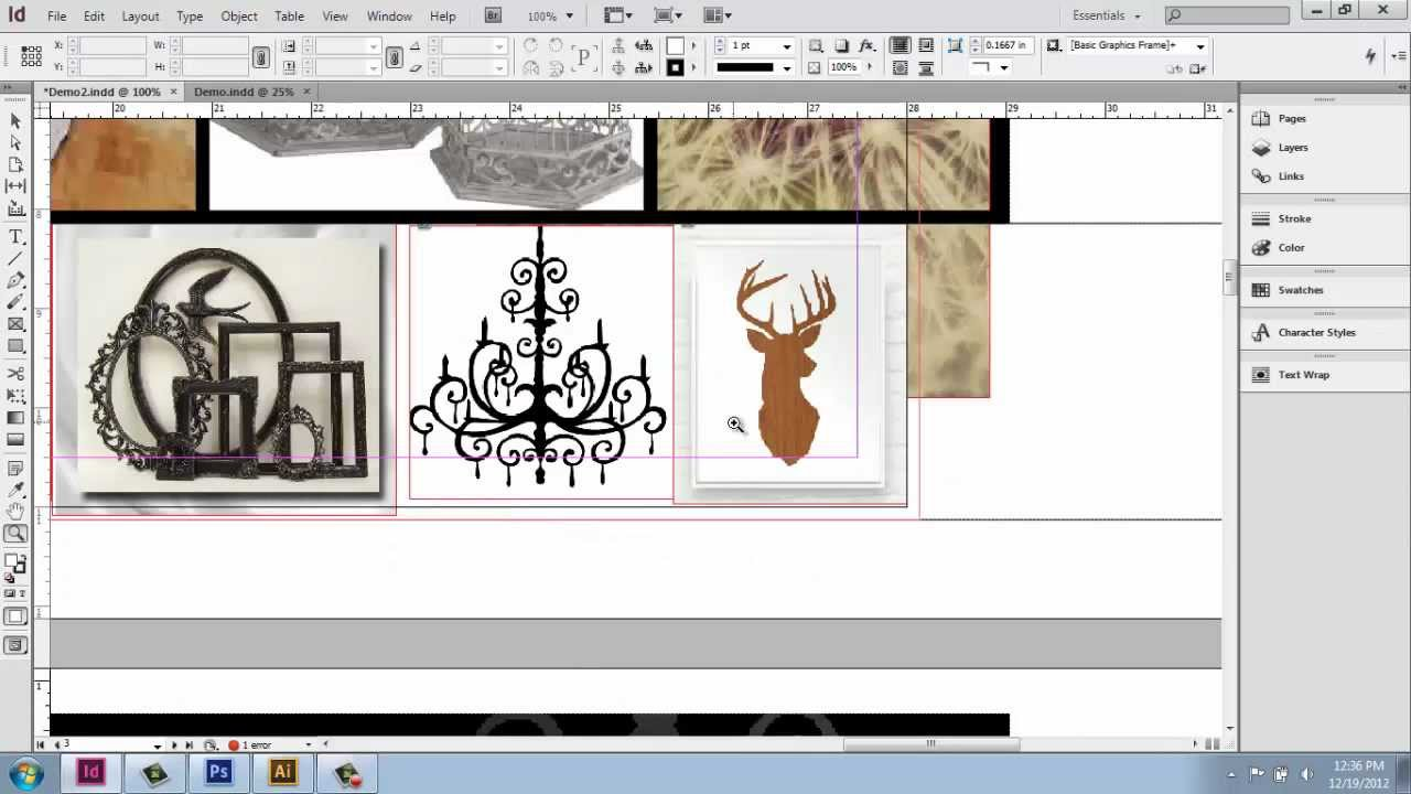 Adobe indesign cs6 interior design portfolio part 9 for Indesign interior