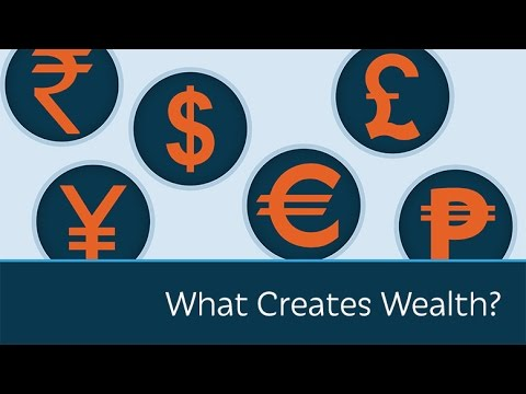 Where does all wealth and economic growth come from? This simple but powerful video explains it in under six minutes