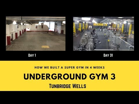 How we made a gym in 4 weeks/ ...
