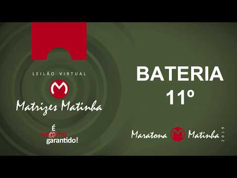 BATERIA 11º  Matrizes Matinha 2019