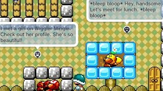 Wiggler's Online Date (comments) by Hype - GOOMBA STORY - SUPER MARIO MAKER - NO COMMENTARY