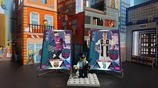 LEO MESSI BIJE RONALDO W ŚWIECIE LEGO CITY POLICJANT PILNUJE PORZĄDKU