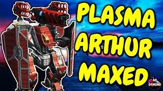 MAXED PLASMA TITAN ARTHUR - Walking Castle - War Robots MK2 WR Gameplay