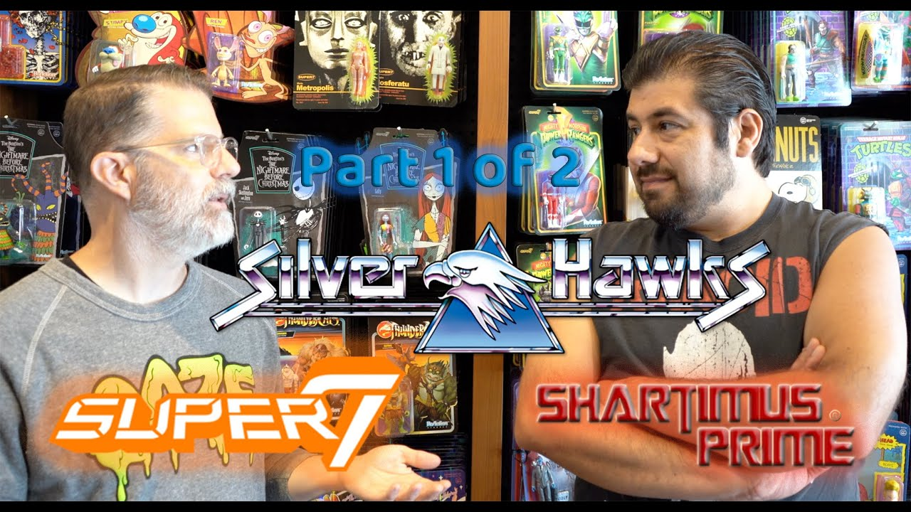 Silverhawks Discussion Super7 Interview Part 1 of 2