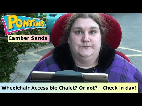 Pontins Camber Sands - Wheelchair Accessible Chalet - Check in day! (12-2-17)