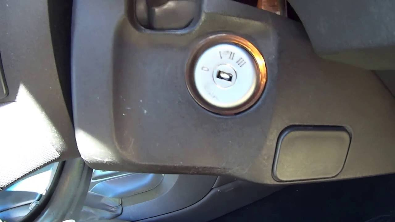Ford FG Ignition Switch Repair Swap