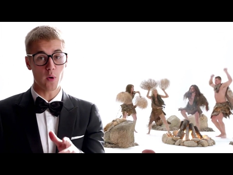 Justin Bieber Teaches History Of Touchdown Celebrations & Dances In NEW Super Bowl Ad