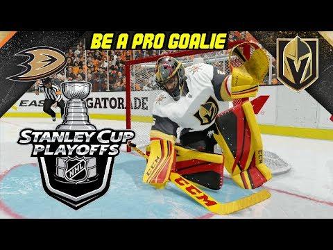 NHL 18 [CZ] Be A Pro Goalie VEGAS GOLDEN KNIGHTS - Jsme nejlepší golmani NHL ?!
