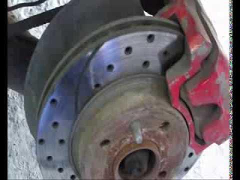 Установка задних дисковых тормозов на ВАЗ (версия без улучшения качества видео)