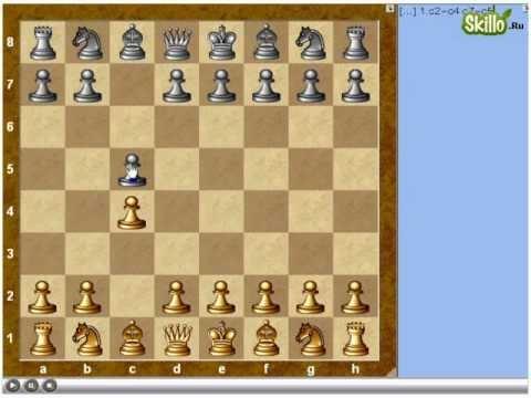 Шахматные дебюты - Английское