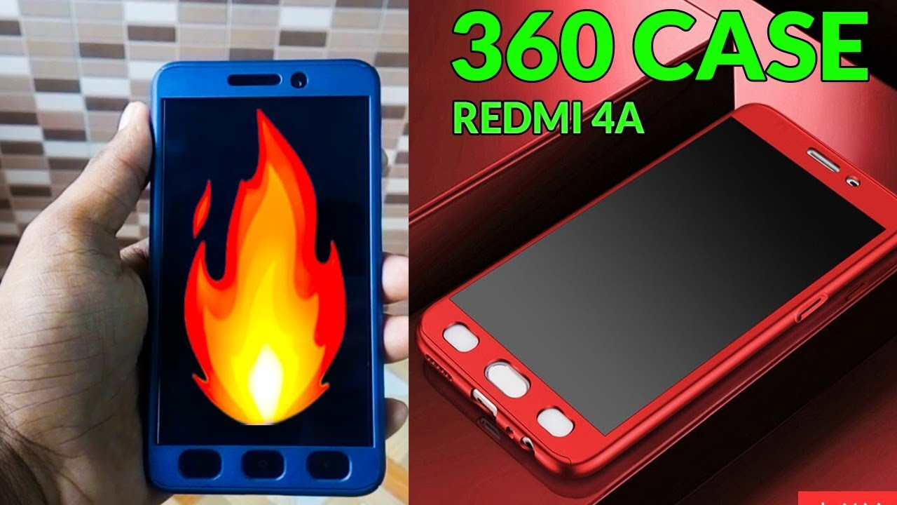 new product dcbb1 91f40 Xiaomi Redmi 4A 360 Cover
