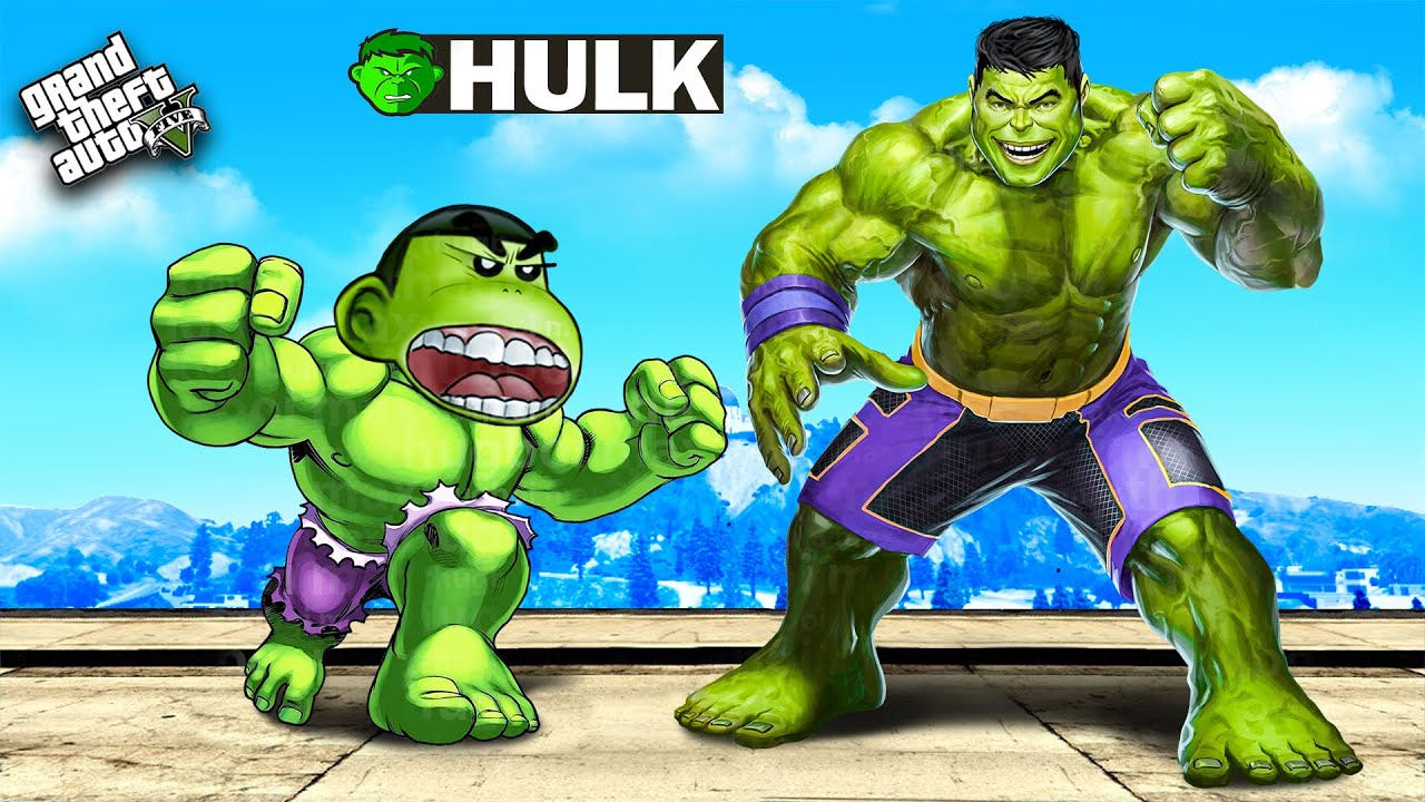 Download ADOPTED by HULK in GTA 5...