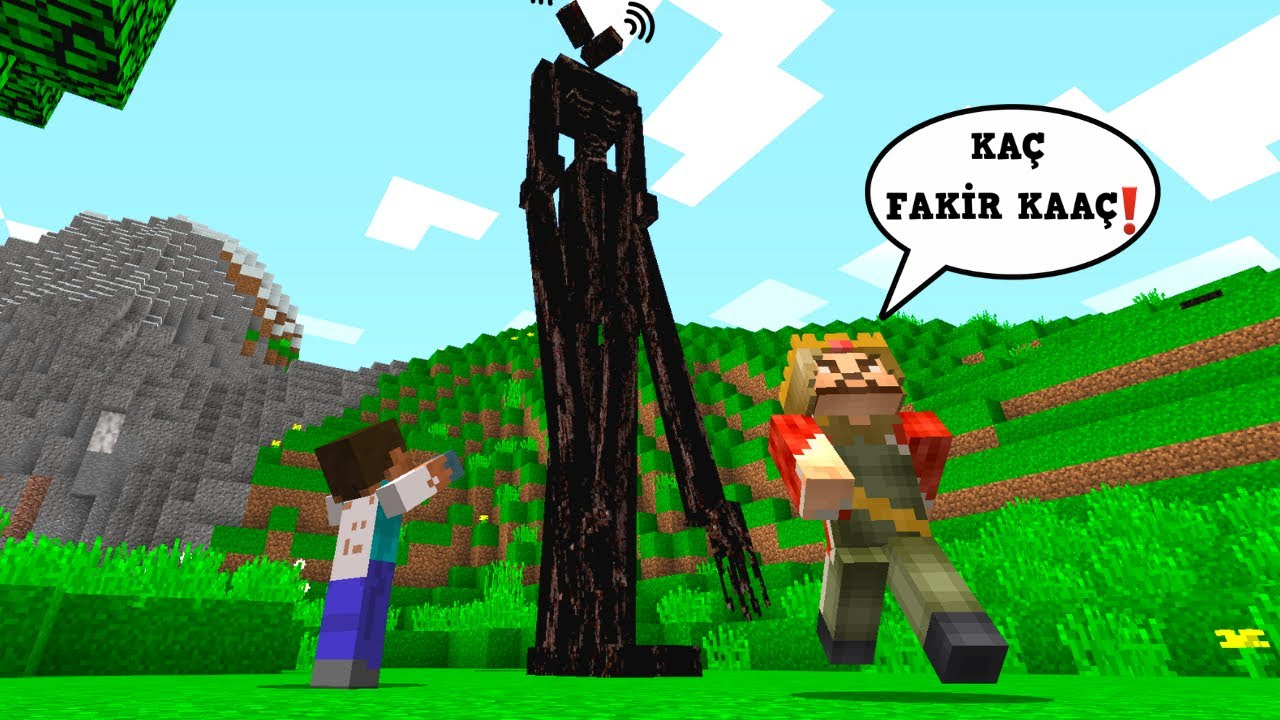 FAKİR SİREN KAFA'NIN KILIĞINA GİRDİ! - 😱 - Minecraft