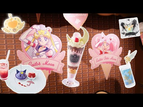 Sailor Moon Café At Harajuku's Q-Pot! | ★ HIGHLIGHTS ★ Princess In Japan