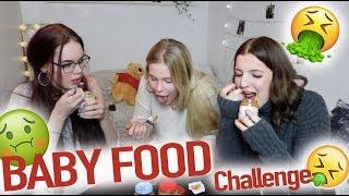 connectYoutube - BABY FOOD CHALLENGE