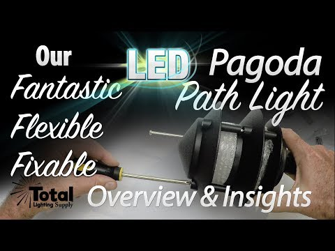 Vintage LED Low Voltage Outdoor Landscape Lighting 3-Tier Pagoda Light - Insights You Can't Pass Up