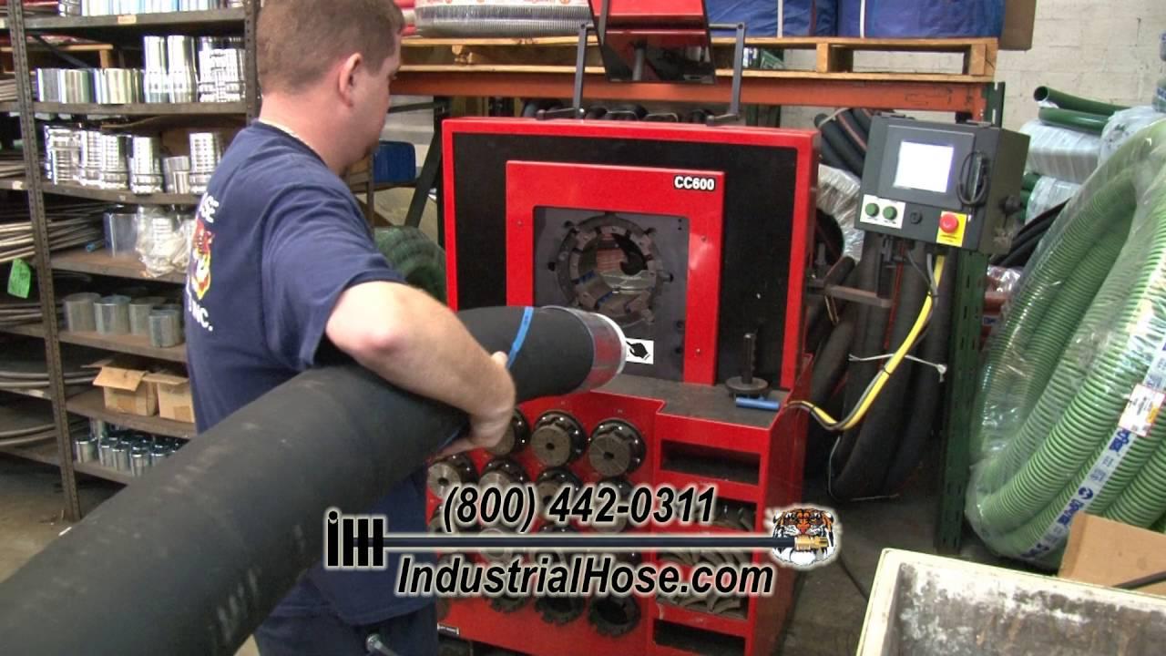 Industrial Hose Crimping u2022 Industrial Hose u0026 Hydraulics & Industrial Hose Crimping u2022 Industrial Hose u0026 Hydraulics - YouTube