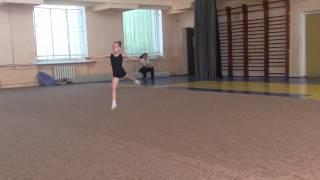 Художественная гимнастика Полина