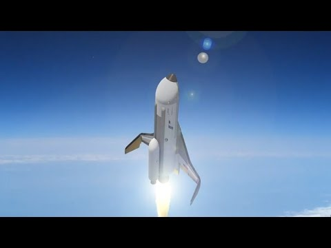 Así será el futuro avión espacial hipersónico XS1
