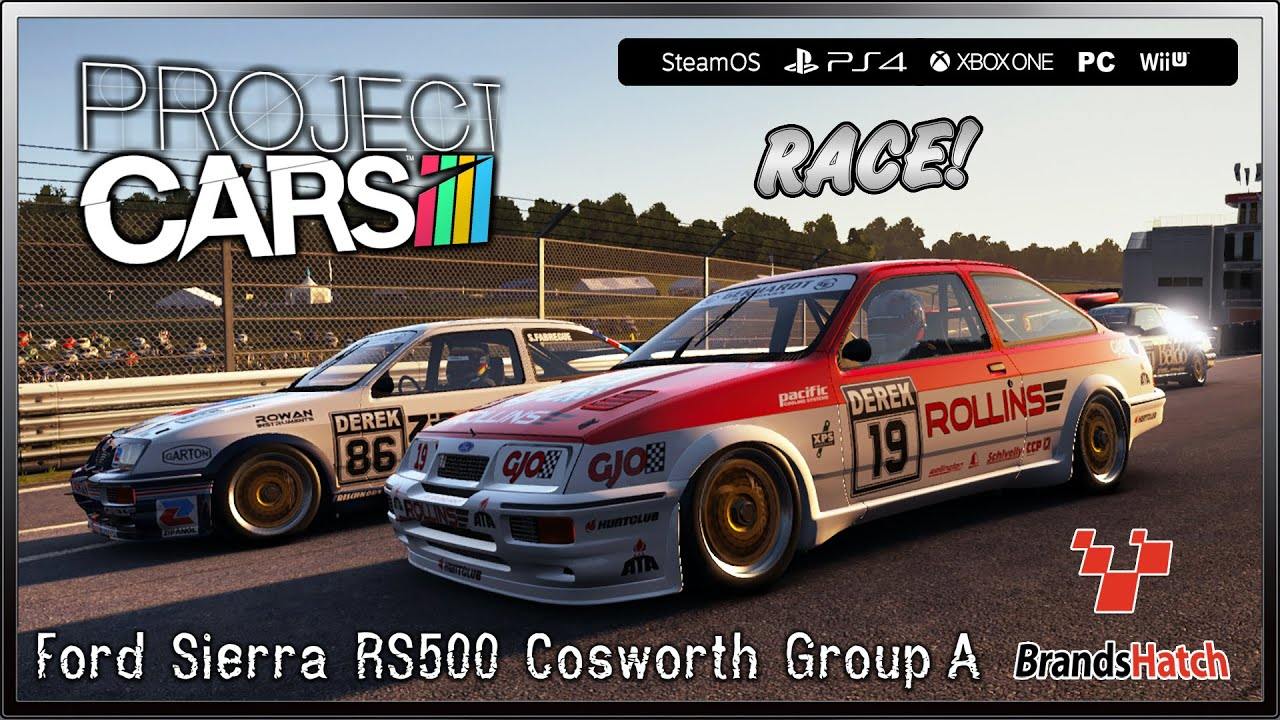 Project CARS Race! - (Ultra Settings) Ford Sierra RS500 Cosworth ...