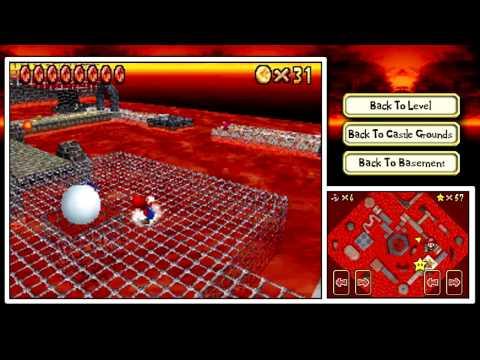 """Super Mario 64 DS - Episode 16 """"Non-Lethal Lava Land"""""""