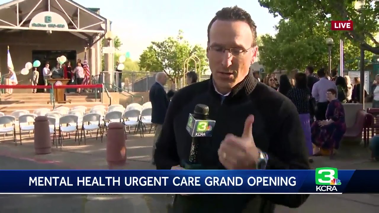 Mental Health Urgent Care Opens In West Sacramento Youtube