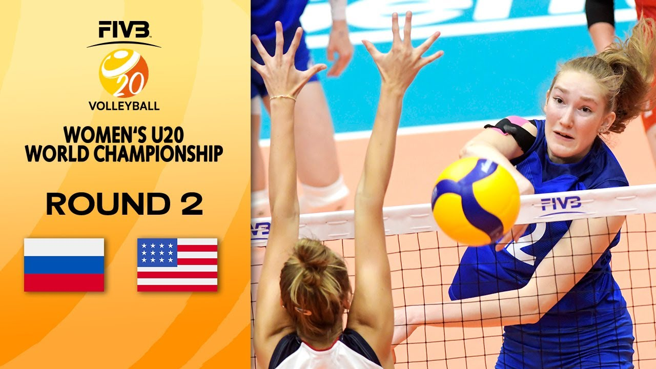 Download RUS vs. USA - Full Match | Round 2 | Women's U20 Volleyball World Champs 2021