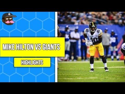 Mike Hilton Vs New York Giants Preseason