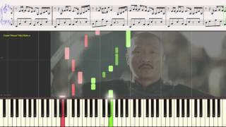 Двери Тамерлана - гр.Мельница  (Ноты и Видеоурок для фортепиано) (piano cover)