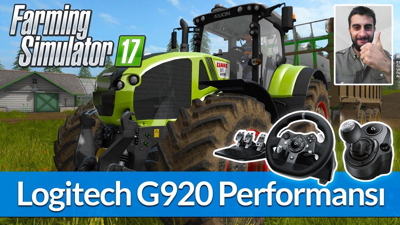 Farming Simulator 17 - Logitech G920 İncelemesi / Ayarlar / Performans