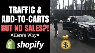 Lots Of Traffic & Add-To-Carts But No Sales?? (Here