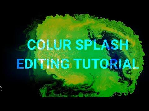 Colour Splash Wallpaper Making Tutorial || Android Editing