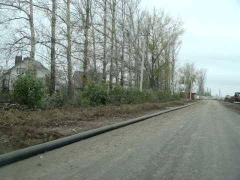 Дороги в поселке Московский в городе Курск!