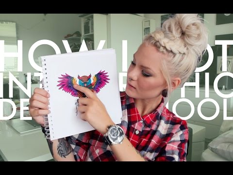 How I Got Accepted To Graphic Design School | Katrin Berndt