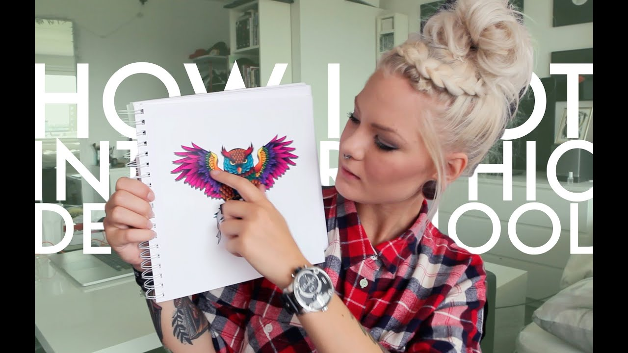 how i got accepted to graphic design school | katrin berndt - youtube