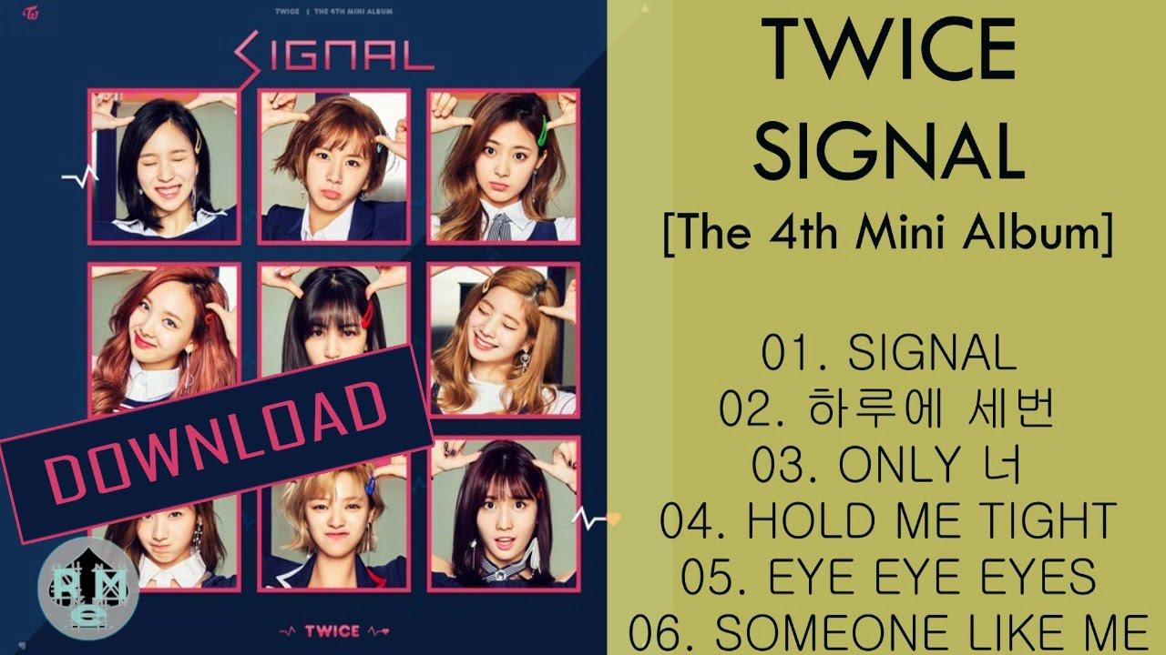 DOWNLOAD TWICE – SIGNAL [The 4th Mini Album] (MP3)