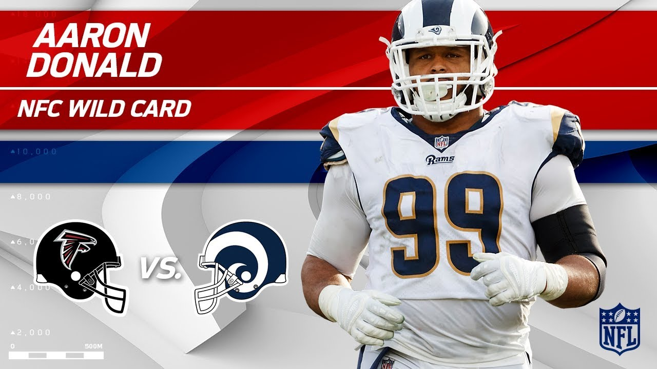 53cf0975c5a Aaron Donald s 10 Hurries in 1st Half Alone!