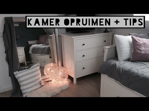 Kamer opruimen + tips! - YouTube