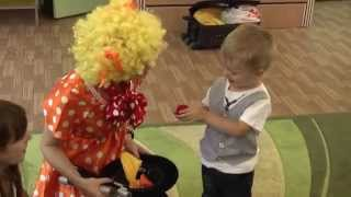 День рождения у Никиты  Клоун поздравляет