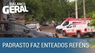 Irmãos são mantidos reféns pelo padrasto há mais de 20 horas no Paraná