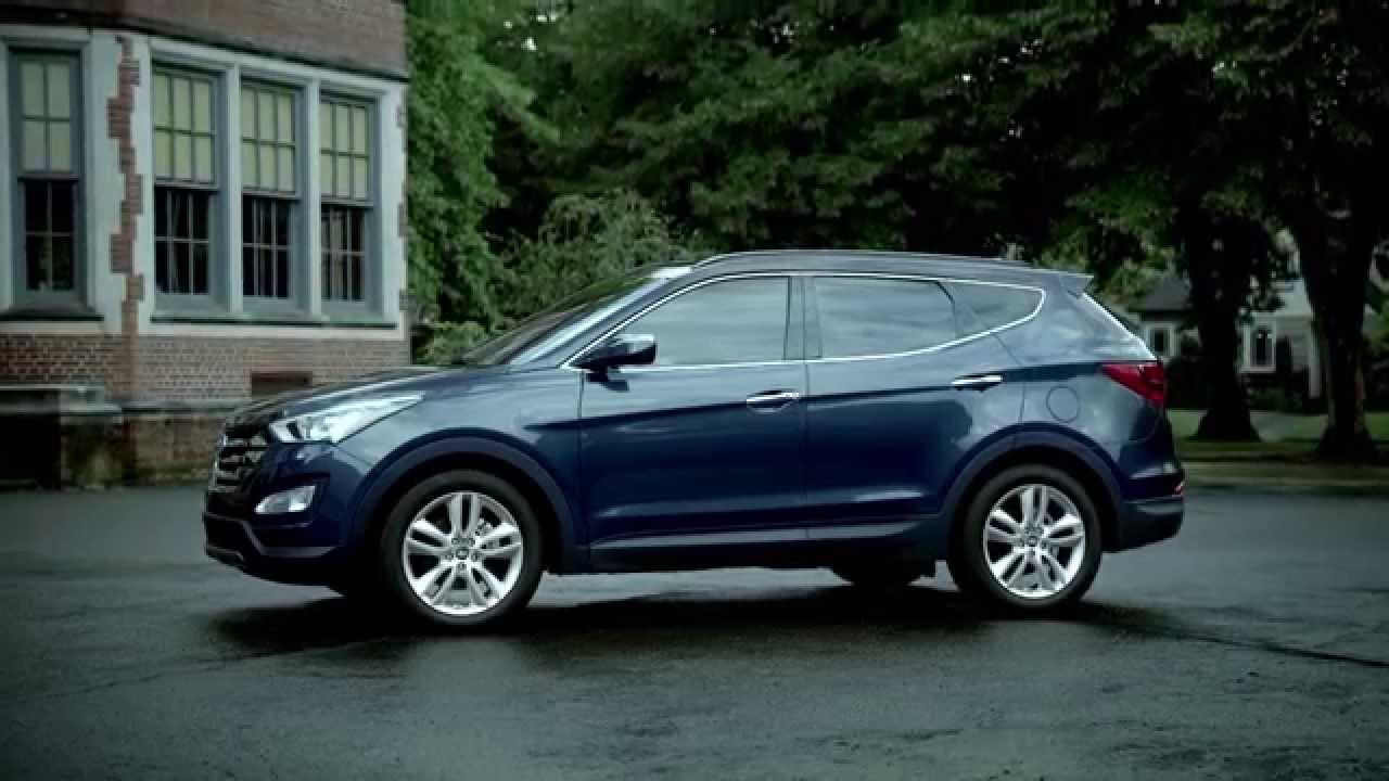 2015 hyundai santa fe sport 2 0t preview blue automototv youtube. Black Bedroom Furniture Sets. Home Design Ideas
