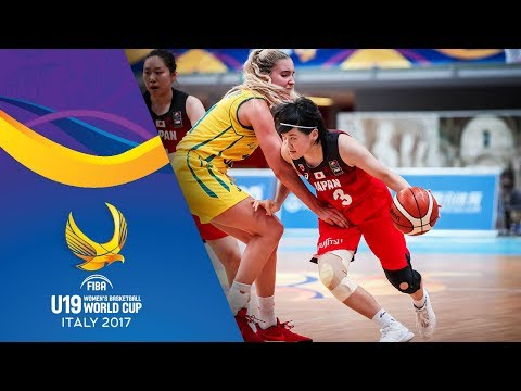 Australia v Japan - Full Game - FIBA U19 Women's Basketball World Cup 2017