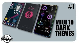 Gambar cover 5 TEMA XIAOMI MIUI 10 | DARK EDITION (PART 1)